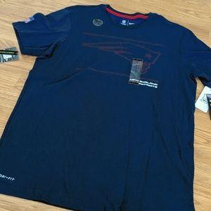 Nike NFL New England Patriots t-shirt Large NWT
